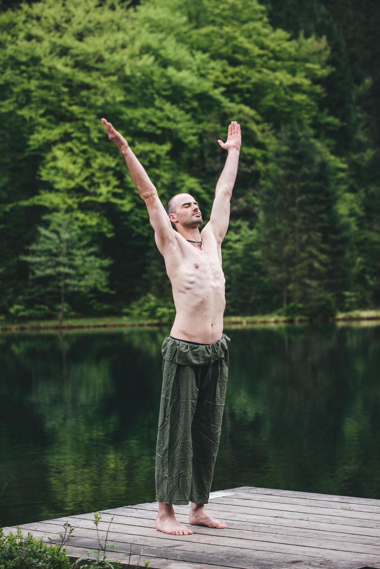 Körperliche Meditation