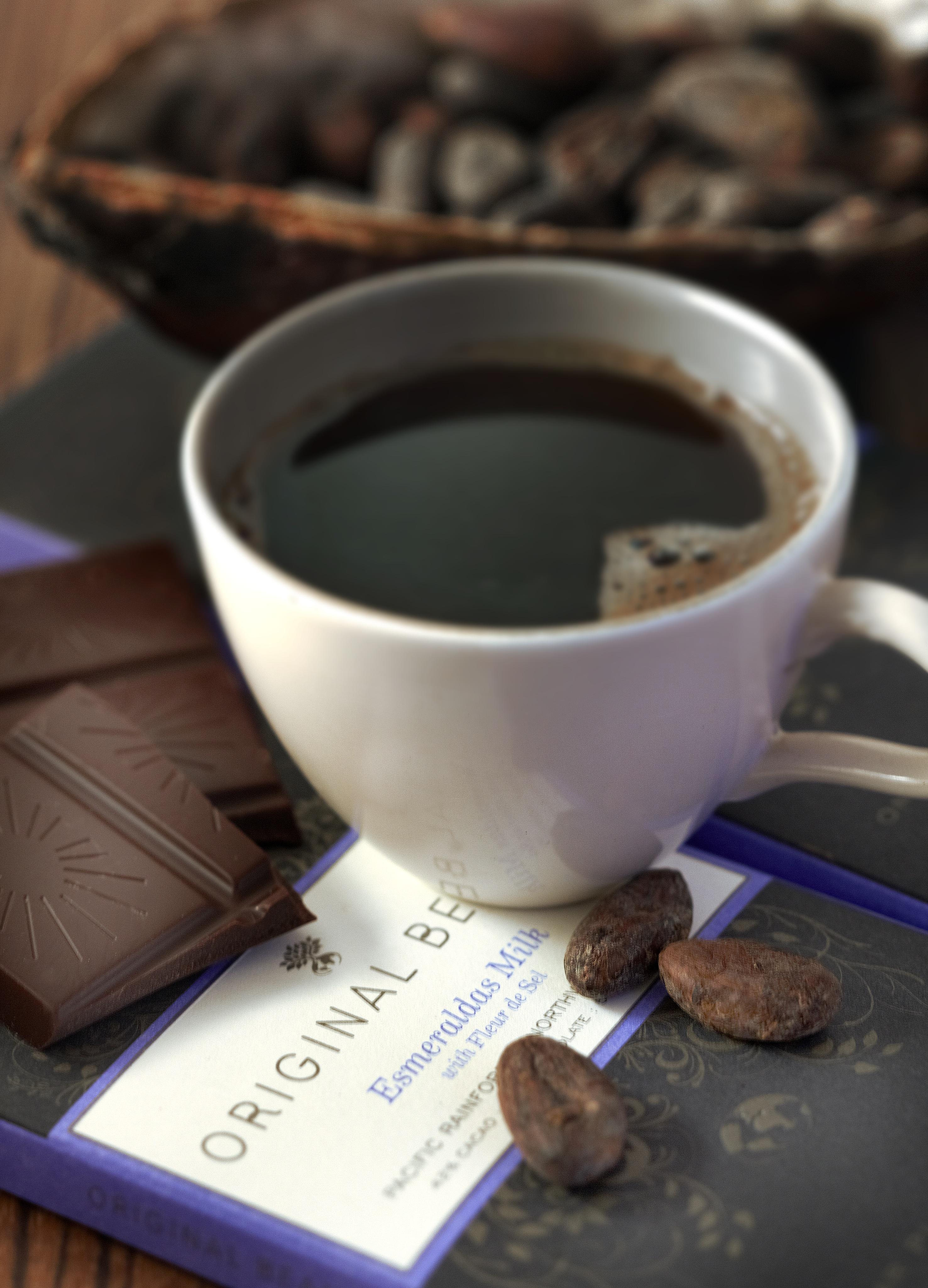 Von der Verpackung bis hin zum Anbau, bei dieser Schokolade ist alles auf Nachhaltigkeit ausgerichtet.