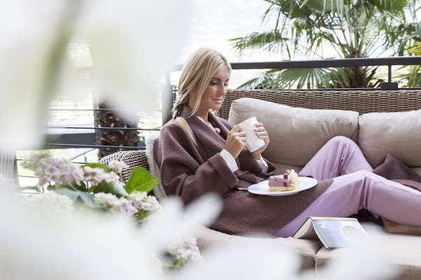 Ein herrlicher Ort zu Lesen ist das Giardino Marling, ob auf dem Balkon oder im Garten. Hier vergisst man die Zeit.