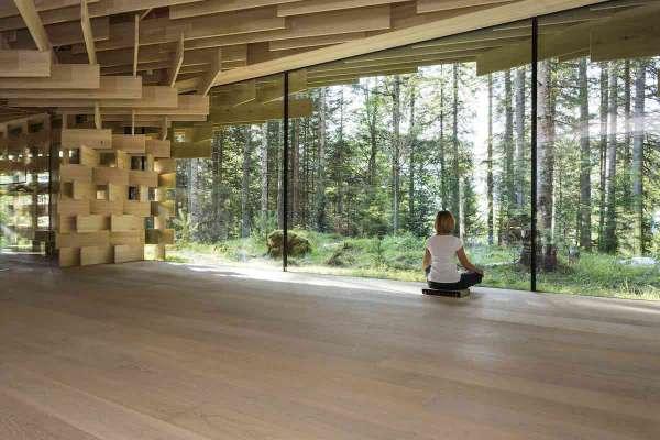 Das Meditation House by Kengo Kuma ist ein Ort an dem man den Trubel der Welt vergisst.