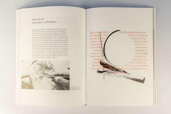 Die Leidenschaft der Kalligraphie in Buchform.