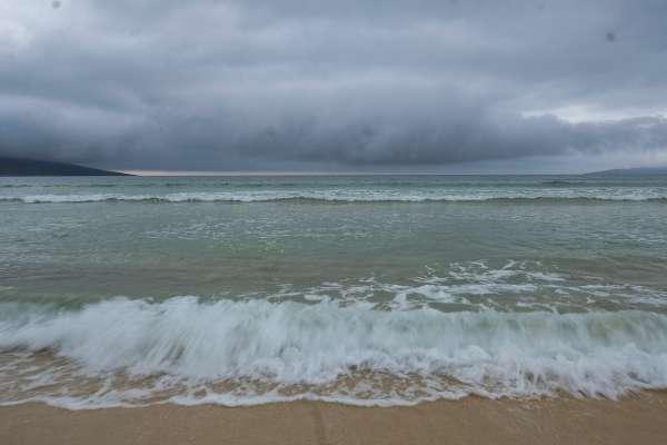 """Offene See: """".......doch um Gedichte lesen zu können, müssten sie lernen, das Meer zu lesen""""."""